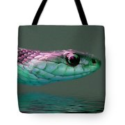 Serpent Profile 2 Tote Bag