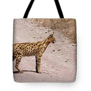 Serval Cat Tote Bag