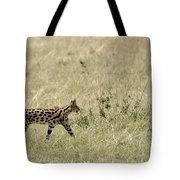 Serval Hunting Tote Bag