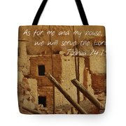 Serve The Lord Tote Bag