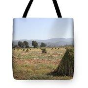 Sesame Crop And Harvest Tote Bag
