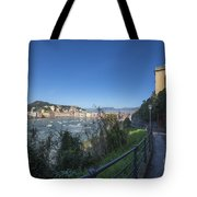 Sestri Levante And A Street Tote Bag