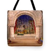 Set Design For Hamlet By William Tote Bag