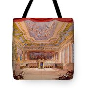 Set Design For The Merchant Of Venice Tote Bag