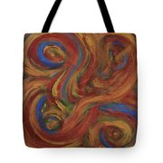 Set To Music - Original Abstract Painting Painting - Affordable Art Tote Bag