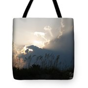 Setting Rays At Sand Dunes Tote Bag