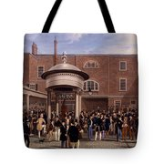 Settling Day At Tattersalls, Print Made Tote Bag