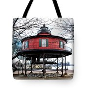 Seven Foot Knoll Lighthouse - Baltimore Tote Bag