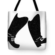 Seven League Boots Tote Bag