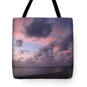 Seven Mile Beach Sunset Tote Bag