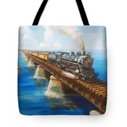 Seven Mile Bridge Tote Bag
