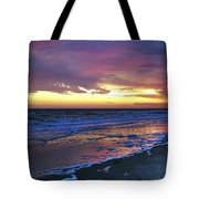 Seven Minutes On The Beach Tote Bag