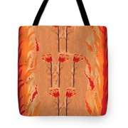 Seven Of Wands Tote Bag