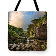 Seven Sacred Paradise Tote Bag