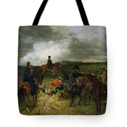 Seventeenth June Eighteen Fifteen At Seven Oclock Tote Bag