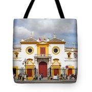 Seville Bullring In Spain Tote Bag