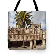 Seville Cathedral In Spain Tote Bag