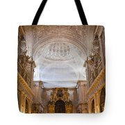 Seville Cathedral Interior Tote Bag