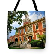 Sewickley Pennsylvania Municipal Hall Tote Bag