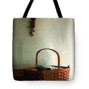 Sewing Basket In Sunlight Tote Bag
