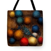 Sewing - Knitting - Yarn For Cats Tote Bag by Mike Savad