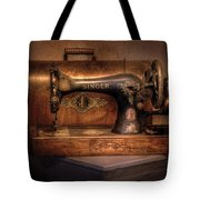 Sewing Machine  - Singer  Tote Bag by Mike Savad