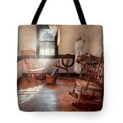 Sewing - Room - Grandma's Sewing Room Tote Bag
