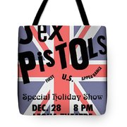 Sex Pistols First Us Appearance Tote Bag