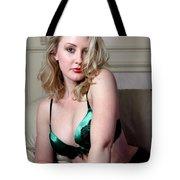 Sexy Blond Boudoir Tote Bag