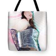Sexy Girl On Moving Tote Bag
