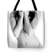 Sexy In A Black Hat Tote Bag