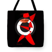 Sexy Lips Black  Red White Black Expressions  Tote Bag