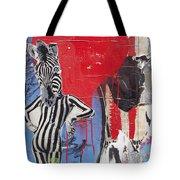 Sexy Zebra Tote Bag