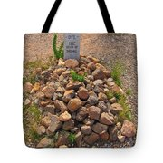 Seymour Dye Killed By Indians Tote Bag