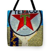 The Big Red Star Tote Bag