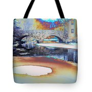 Sgt Peppers Lonely Hearts Club Bridge Tote Bag