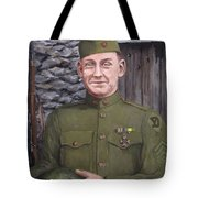 Sgt Sam Avery Tote Bag