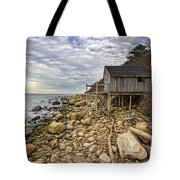 Shack On The Sound Tote Bag