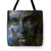 Shackled And Drawn Tote Bag by Paul Lovering