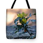 Shaded Mahonia Tote Bag
