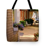 Shaded Walkway Tote Bag