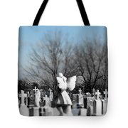 Shades Of A Gothic Winter Tote Bag