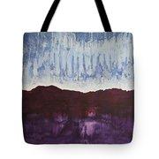 Shades Of New Mexico Original Painting Tote Bag