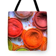 Shades Of Orange Watercolor Tote Bag by Heidi Smith
