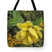 Shades Of Yellow Tote Bag