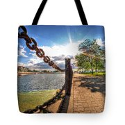 Shadow And Light V2 Tote Bag