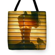 Shadow Bird Tote Bag
