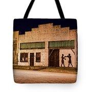 Shadow Boxing Tote Bag by Gary Holmes