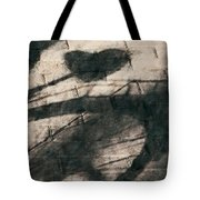 Shadow Heart Chalk 1 Hp Tote Bag