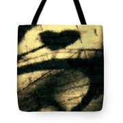 Shadow Heart Pastel Chalk 1 Tote Bag